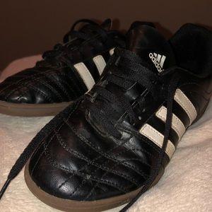 Adidas indoor kids soccer sneakers